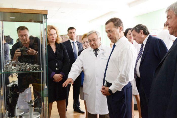 Садовой и Медведев