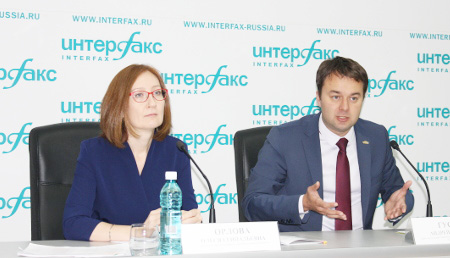 Олеся Орлова, Андрей Гуськов. Фото Интерфакс