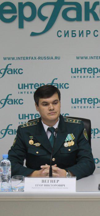 Первый замначальника Новосибирской таможни Егор Вегнер