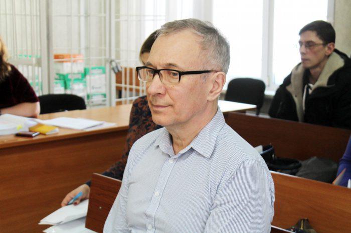 Сергей Масликов в зале суда