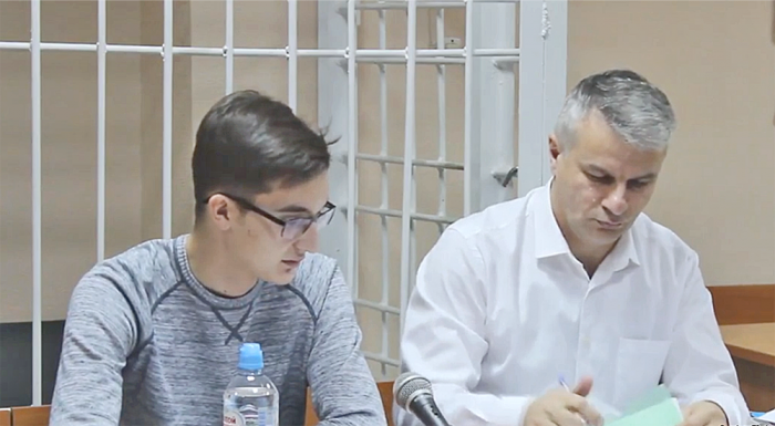 Защищает Владимира Жоглика адвокат Александр Балян