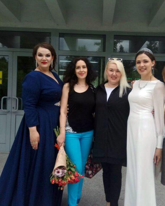 Мария Баракова, концертмейстер Инна Куйда и Светлана Балашова
