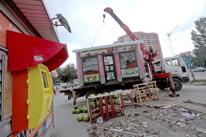 Демонтаж нелегалов — рутинная работа муниципалитета