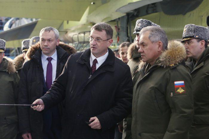 В феврале 2018 года Андрей Травников сопровождал по чкаловскому авиазаводу министра обороны России Сергея Шойгу, который проверял ход выполнения гособоронзаказа