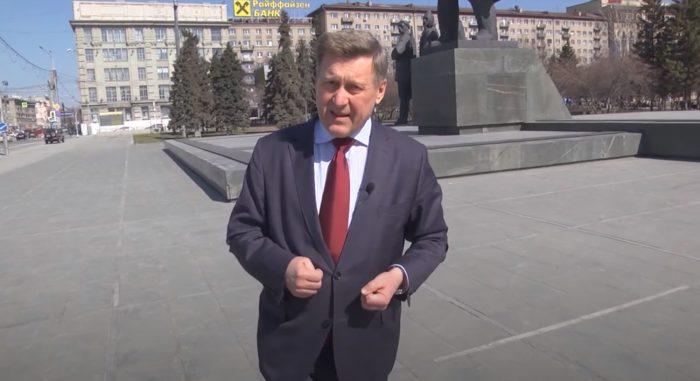 Анатолий Локоть в честь юбилея обратился к новосибирцам с небольшим неофициальным видеообращением