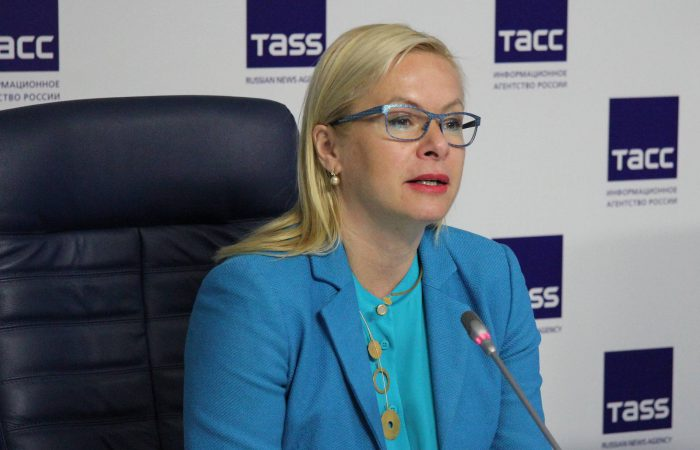 Вице-мэр Новосибирска Анна Терешкова