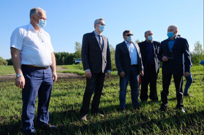 Губернатор Новосибирской области посетил Здвинский район с рабочим визитом.