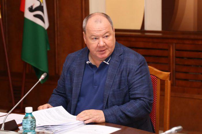 Депутат Законодательного собрания Новосибирской области, председатель комитета по бюджету Александр Морозов