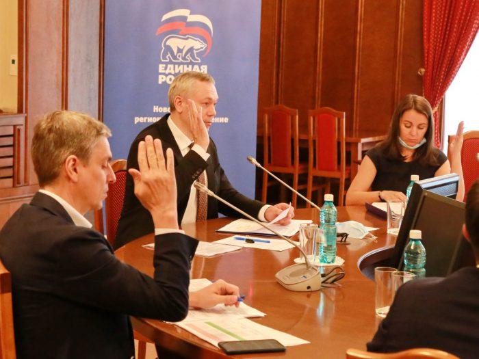 Новосибирский региональный оргкомитет предварительного голосования партии «Единая Россия» 15 мая 2020 года завершил прием документов на участие в праймериз.