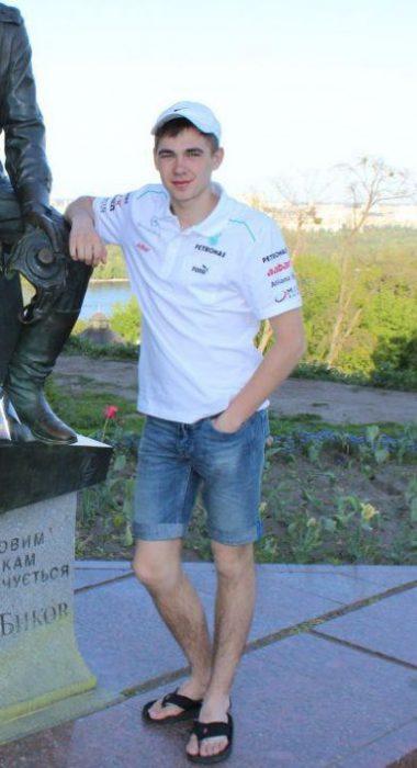 Никита Лазьков (фото с удаленной личной страницы в соцсети)