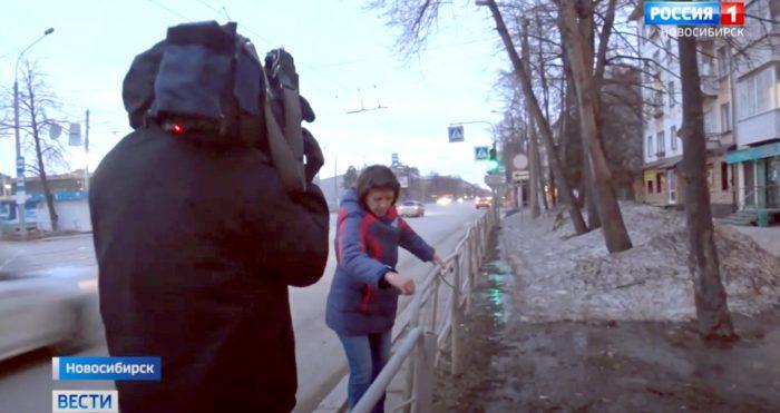 По замерам журналистов «Вестей», скорость автомобиля составляла 116 км в час