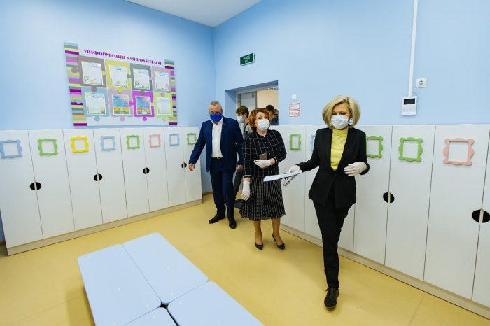 С наполнением объекта знакомилась детский омбудсмен Надежда Болтенко