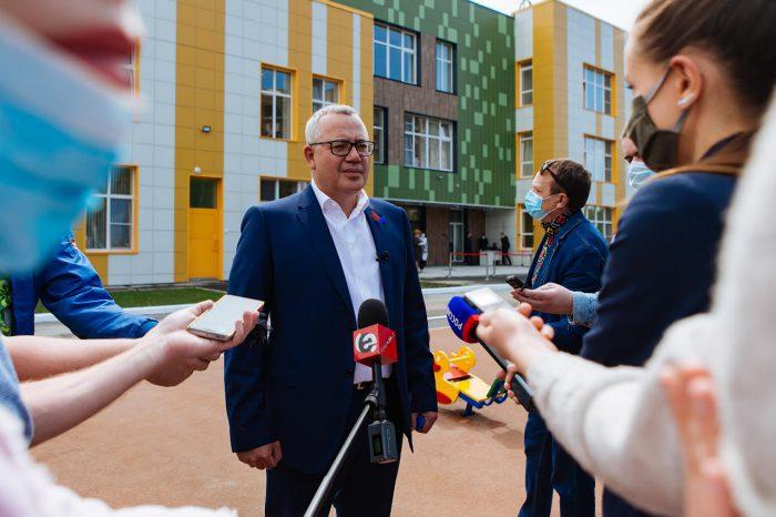 Илья Поляков: «Стрижи» передали области проект детсада по дарственной»