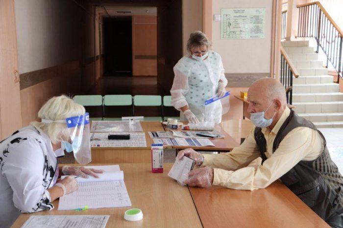 Голосование по поправкам в Конституцию РФ в Новосибирской области