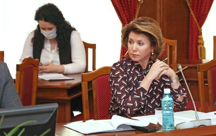 Председатель КСП Елена Гончарова