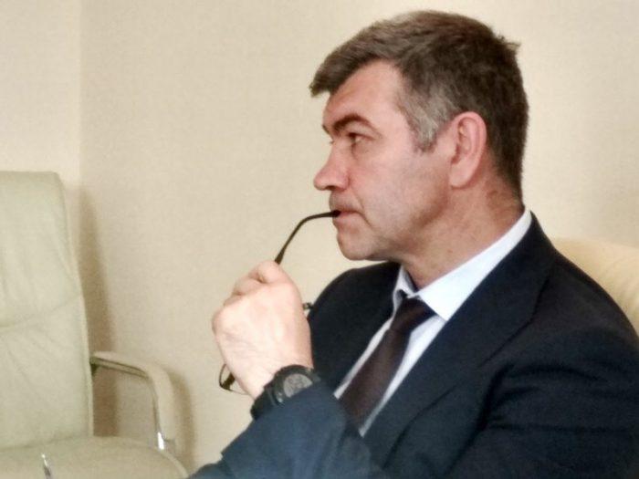 Министр промышленности и торговли Новосибирской области Андрей Гончаров
