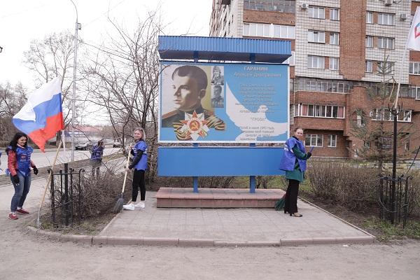 Старая стела Герою СССР Алексею Гаранину уйдет в историю - на ее месте появится пятиметровый памятник из красного курдайского гранита