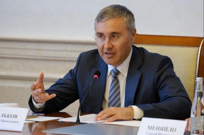 Министр науки и высшего образования Валерий Фальков в Новосибирске
