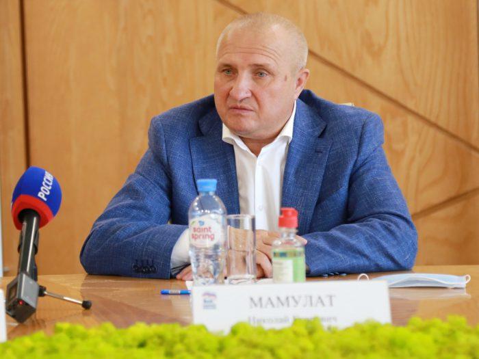 Уполномоченный по защите прав предпринимателей в Новосибирской области Николай Мамулат