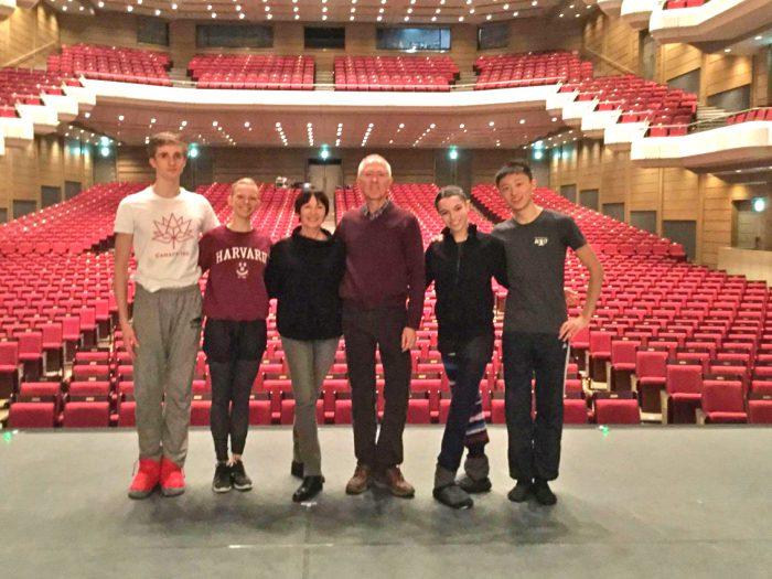 Во время поездки в Японию по приглашению известных деятелей обучения танцу Тацуи Куросава и Асами Макки, проводящих большие гала-концерты учащихся школ балета со всего мира