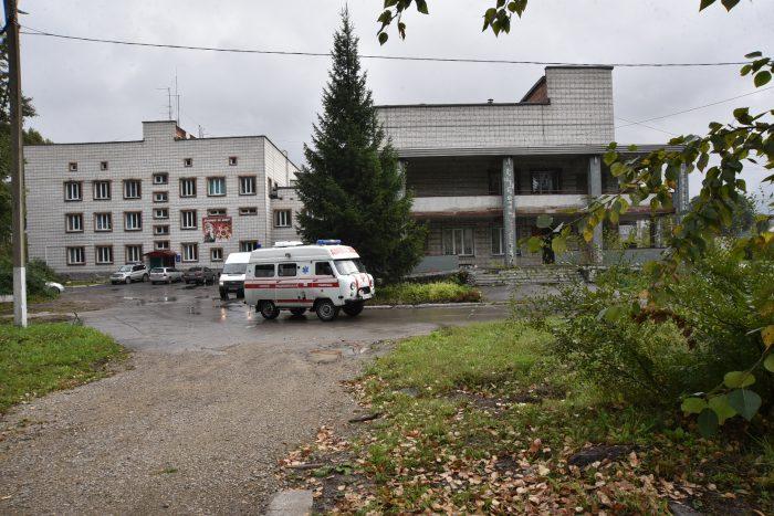 В Линево назрела реконструкция основного здания больницы и решение по недостроенному объекту на территории медицинского городка