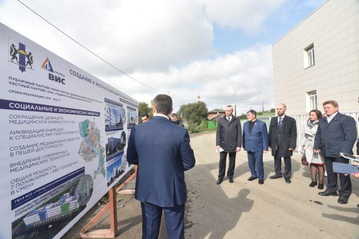 Гендиректор ООО «Седьмая концессионная компания» Антон Ганцов докладывал обо всех семи поликлиниках сразу
