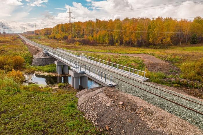 Мост через реку Шипуниху, Искитимский район, Новосибирская область