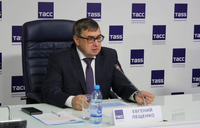 Министр сельского хозяйства Евгений Лещенко