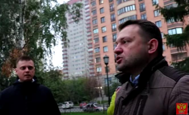 Кадр видео с признанием Сергея Бойко в том, что кандидатом от «УГ» может быть «жулик, вор и бандит»