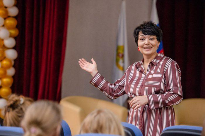Мария Жафярова на установочной встрече  с участниками программы «Учитель для России»