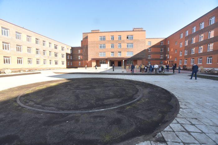 Новая гимназия в Краснообске