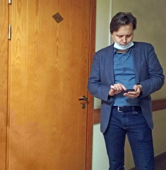 В суды Юрий Фендик ходит как на работу