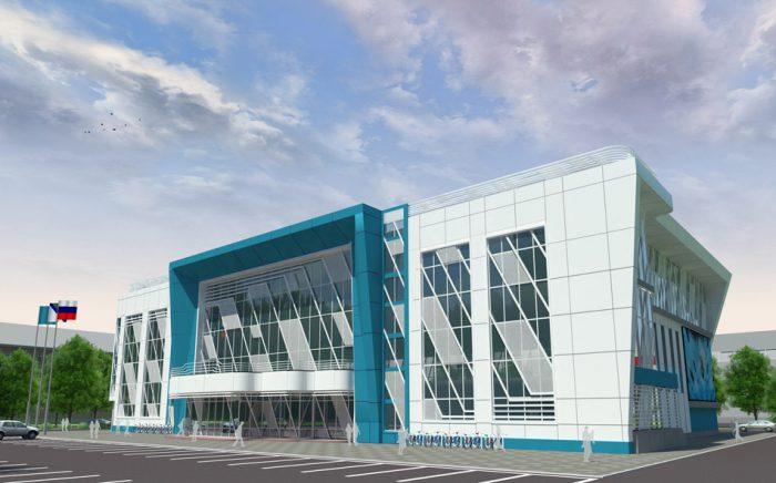 Визуализация проекта реконструкции бассейна СКА
