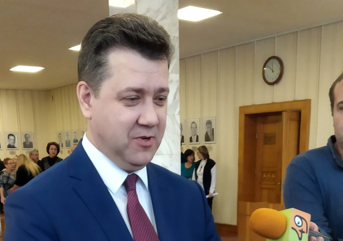 Министр финансов и налоговой политики Новосибирской области Виталий Голубенко