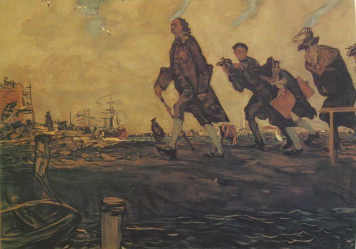 «Петр I», Валентин Серов, 1907