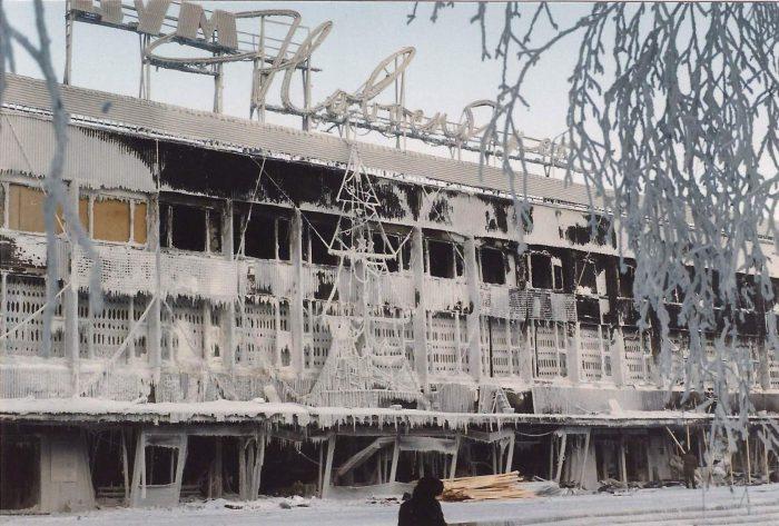 ЦУМ-Новосибирск, зима 2001 года