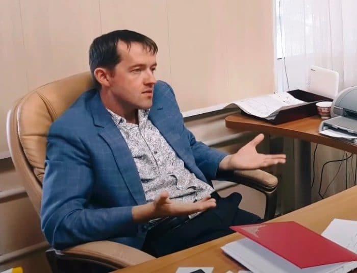 Глава Станционного сельсовета Александр Мыльников