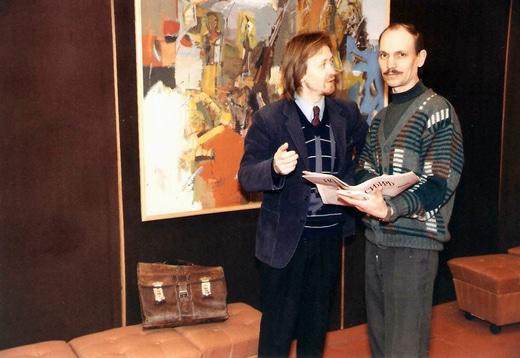 Владимир Светлосанов и Евгений Минияров. 1996 г.