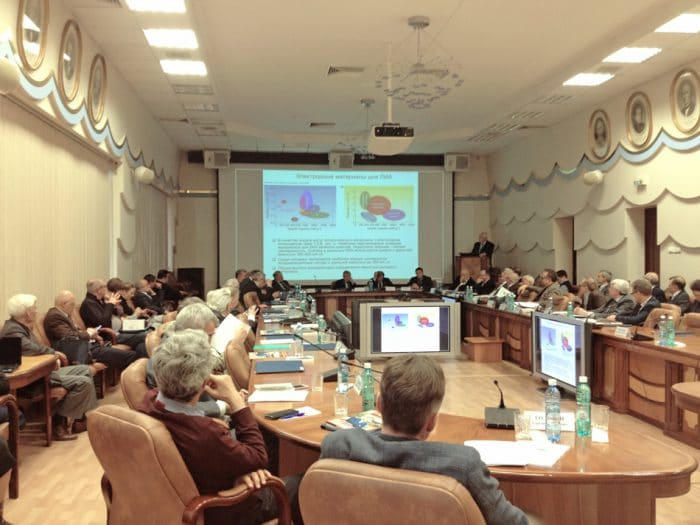 Заседание президиума СО РАН, фото из архива sbras.ru.