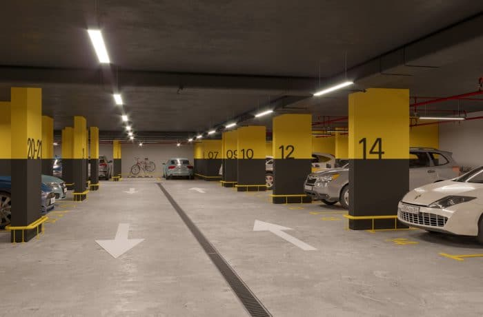Подземный паркинг «Расцветай на Ядринцевской»