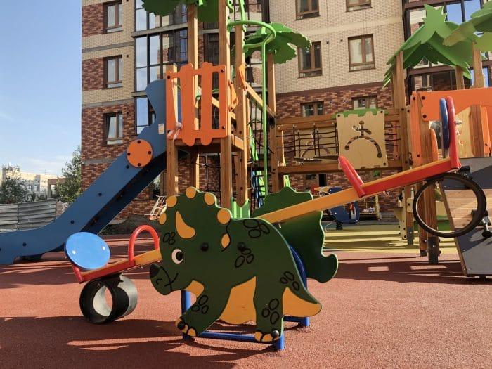 Детская площадка – один из основных элементов комплексного благоустройство объектов ГК «Расцветай»