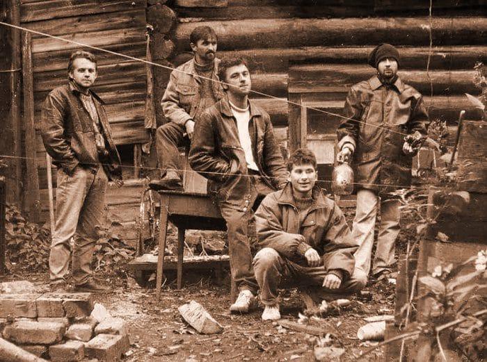 На фото (слева направо): Дмитрий Булныгин, Александр Голиздрин, Олег Еловой, Юрий Потапов, Вячеслав Мизин
