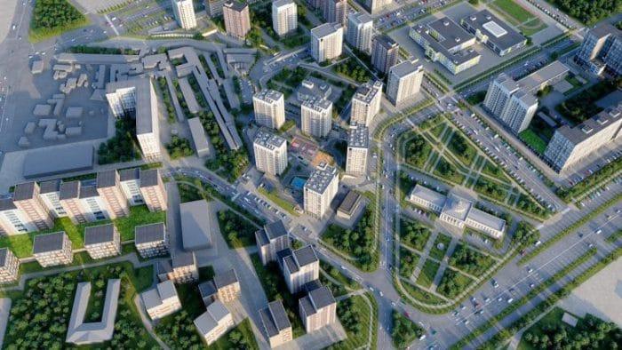 Проект комплексной застройки при отсутствии инфраструктуры приводит депутатов  в ужас. Визуализация с сайта sds-finance.ru