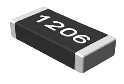 Толстоплёночный резистор общего применения в исполнении для поверхностного монтажа Р1-12 ОН (типоразмер – 1206)